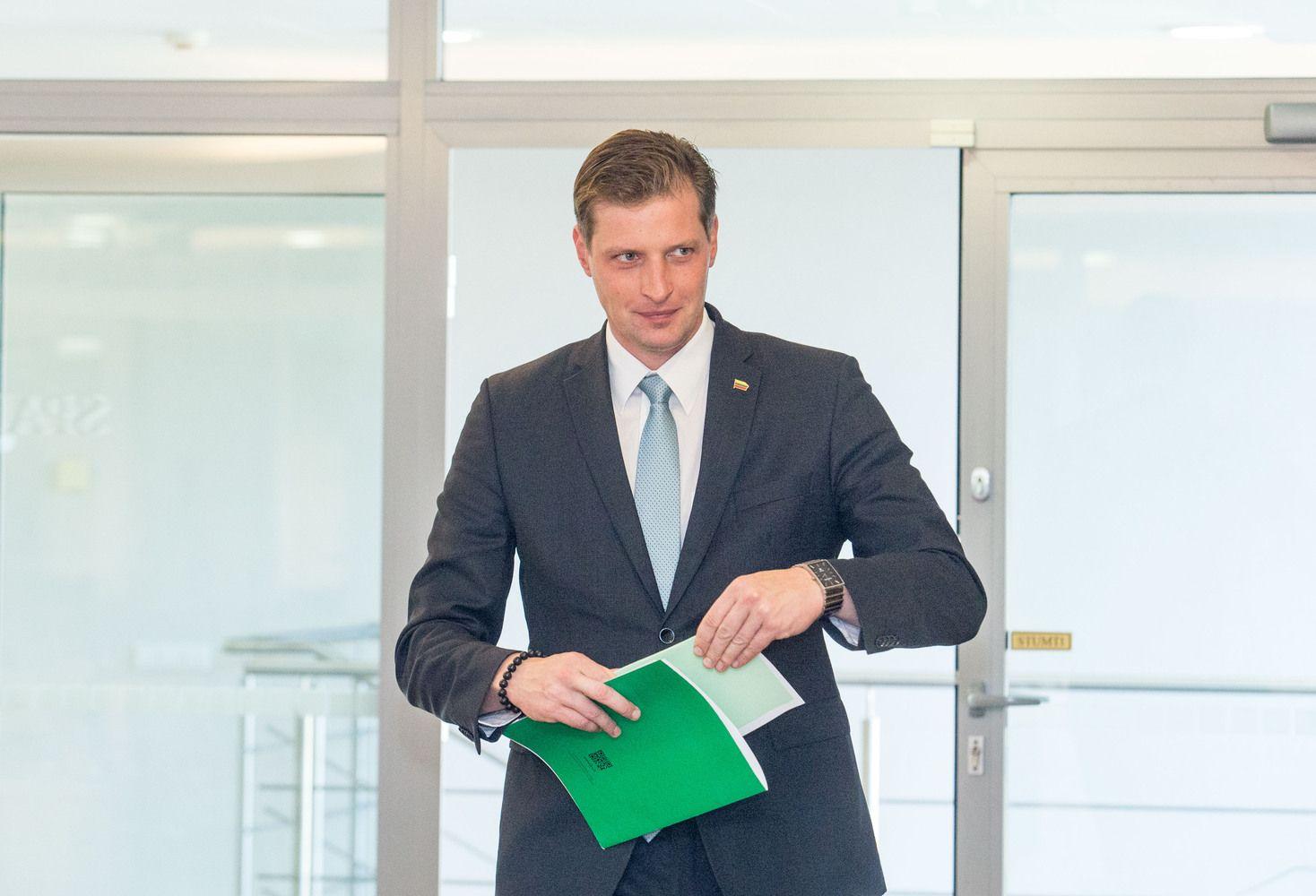 Į aplinkos ministrus bus teikiama Seimo nario K. Mažeikos kandidatūra