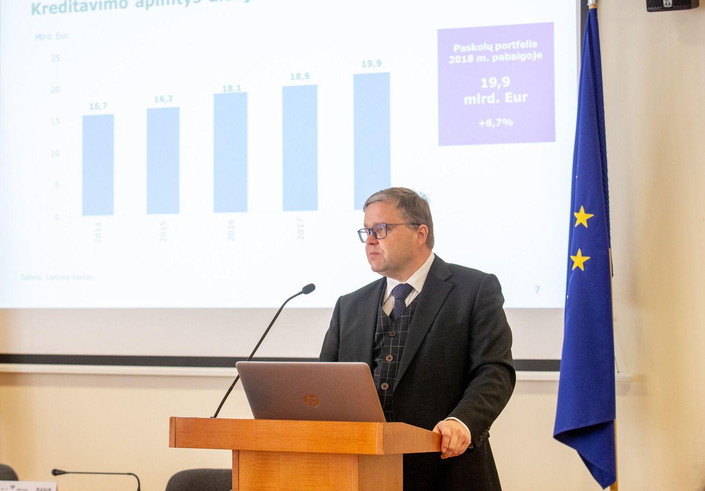 Bankų koncentracija: išaugusios būsto paskolų maržos, pelnas, lyderiai ES pagal efektyvumą