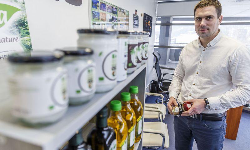 """Aurimas Bagdanavičius, UAB """"Foksas"""" vadovas: """"Šiuo metu Lietuvos ekologiškų produktų rinka jau yra perpildyta."""" Vladimiro Ivanovo (VŽ) nuotr."""
