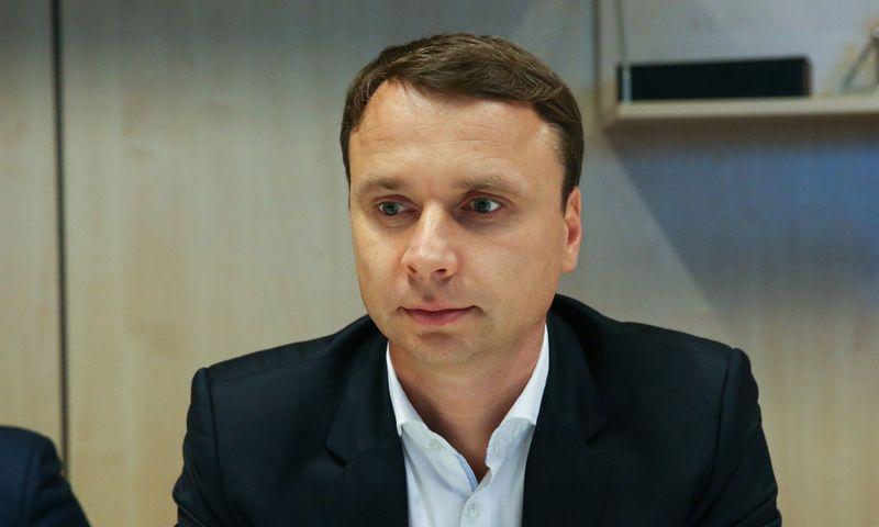 """Paulius Jokšas, """"Vlinius factoring company"""" vykdantysis direktorius. Vladimiro Ivanovo (VŽ) nuotr."""