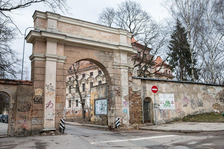 R. Šimašius po viešos kritikos stabdo Vilniaus Sapiegų parko rekonstrukciją