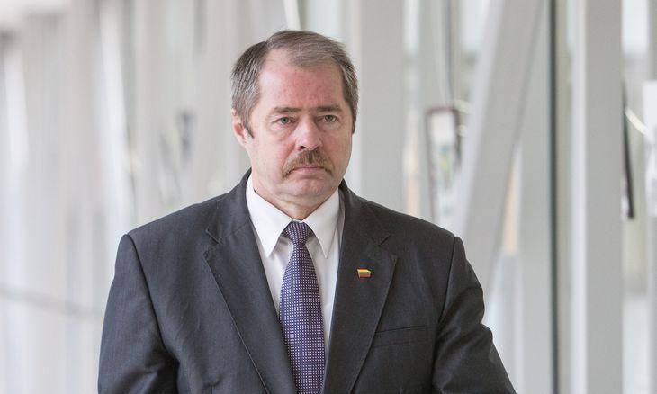 """A. Skardžius ir R. Sargūnas """"MG Baltic"""" byloje liudijo dėl įstatymo projekto"""