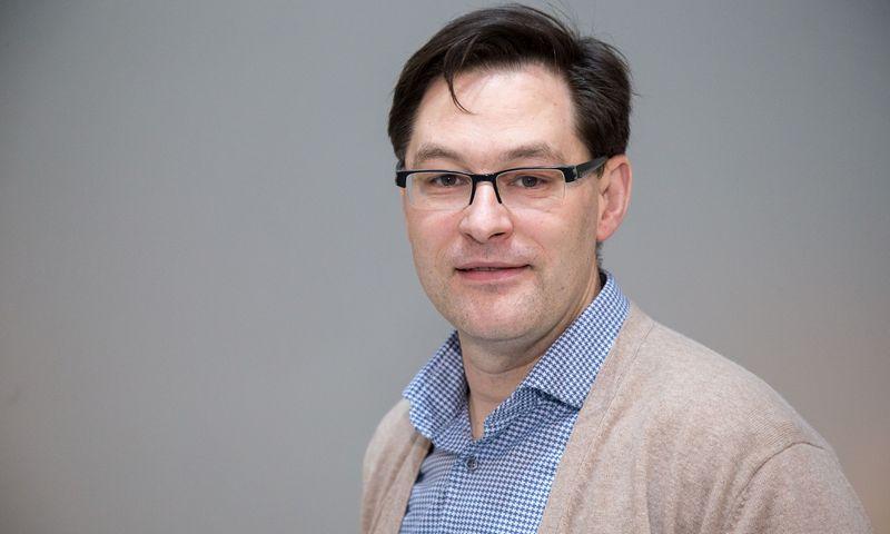 """Artūras Skairys, įmonių grupės """"KG Group"""" rinkodaros tarybos direktorius. Vladimiro Ivanovo (VŽ) nuotr."""