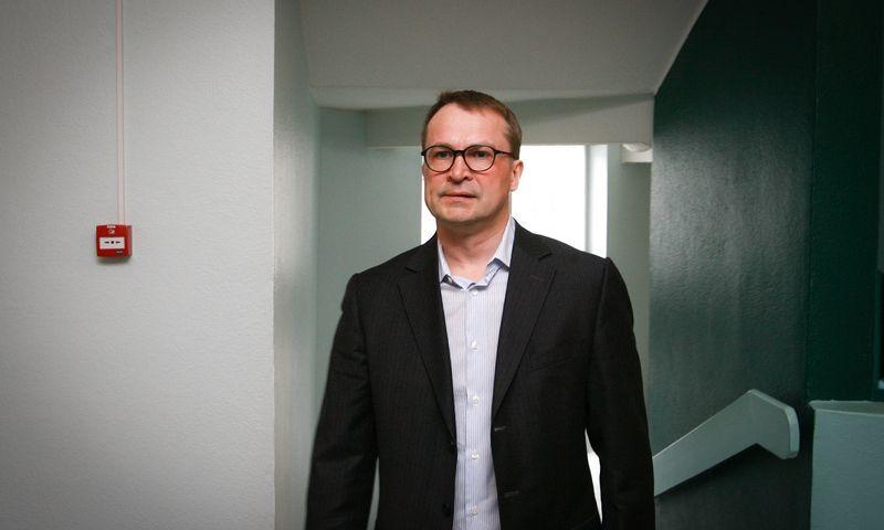 """Estijos verslininkas Margusas Linnamae. Andras Kralla (""""Aripaev"""") nuotr."""