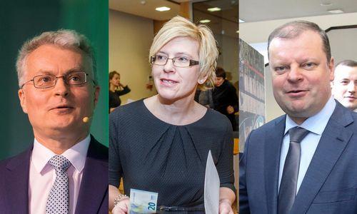 Prezidentinė trijulė apie PVM, GPM ir kapitalo mokesčius