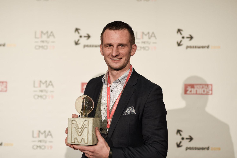 """""""Metų CMO 2019"""" laurai – """"Volfas Engelman"""" rinkodaros vadovui"""