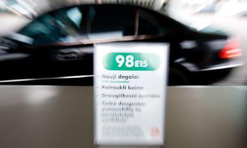 Nuo 2020-ųjų benzine biodegalų turės būti ne mažiau kaip 10%