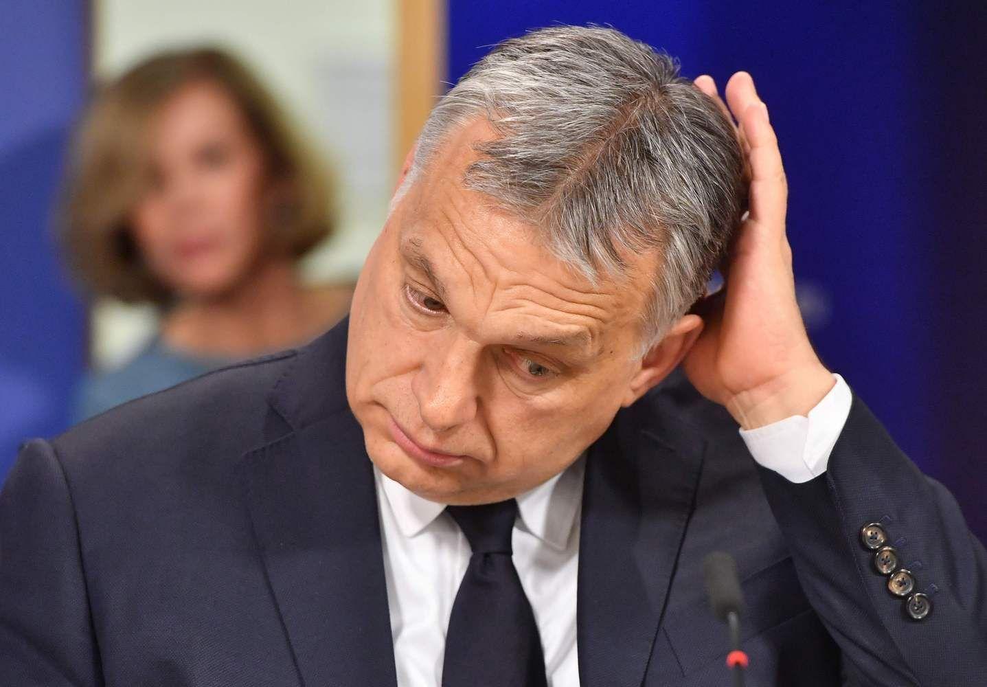 Europos dešiniejiįšaldė V. Orbano partijos narystę