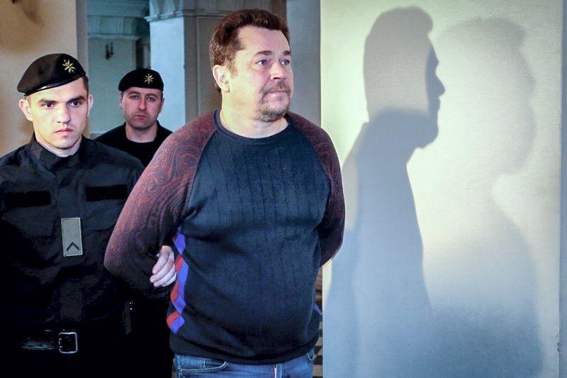 Evaldo Rimašausko ekstradicijos byla 2017 m. Vidmanto Balkūno (15min.lt) nuotr.