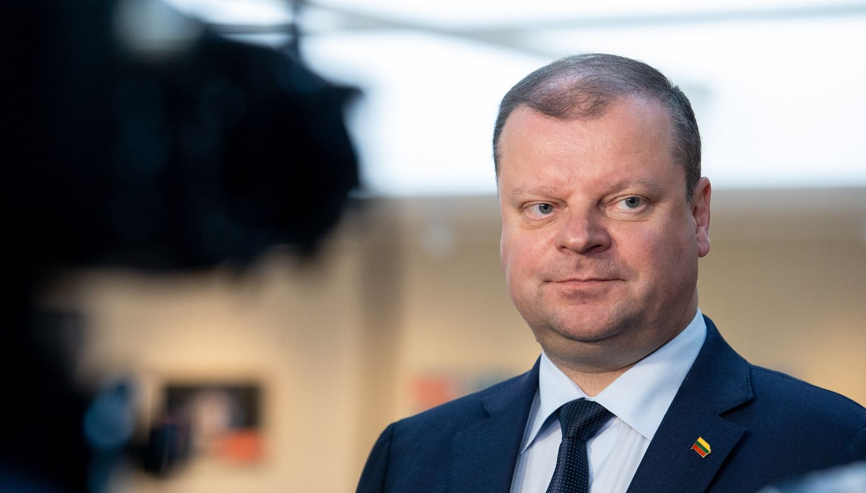 S. Skvernelis apie bankus: lenkiški – gerai, skandinaviškimažai konkuruoja, valstybiniam – ne