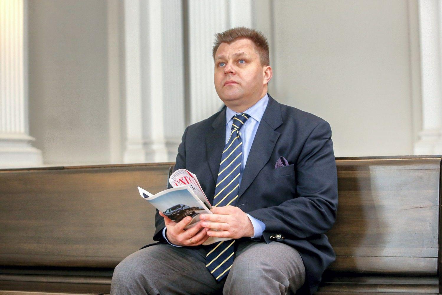 M. Adomėnas neigia gavęs finansinės paramos iš R. Kurlianskio