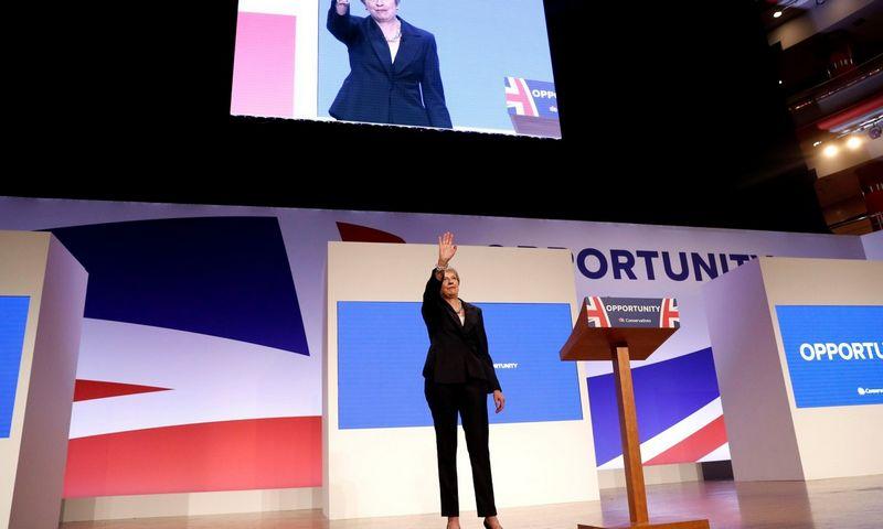 "Theresa May. Darreno Stapleso (""Reuters"" / ""Scanpix"") nuotr."