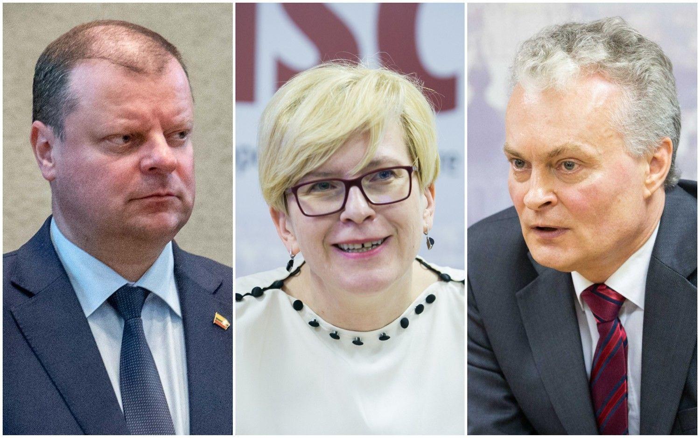 Užsienio politika: trijų kandidatų į prezidentus programos