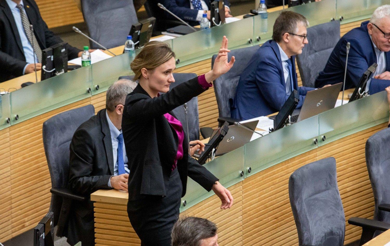 Seimo opozicija pagaliau susitarė dėl lyderio