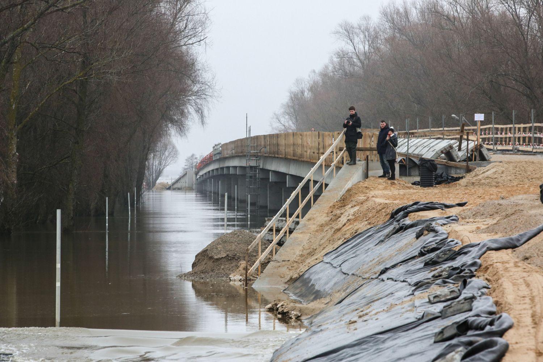 Šilutėje atšaukta ekstremalioji padėtis dėl potvynio
