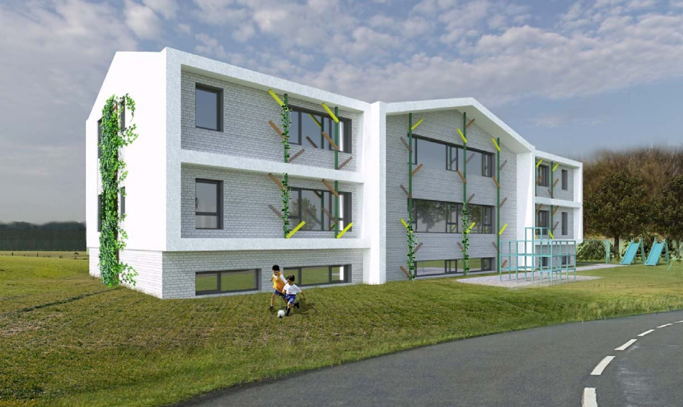 Vilniuje projektuojamas 60 vietų privatus vaikų darželis