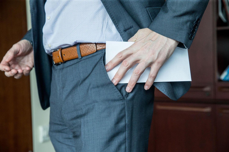 Privatų verslą skiepija nuo korupcijos
