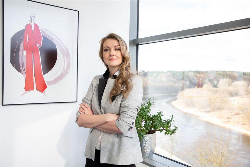 """Viktorija Krolytė, UAB """"Baltika Lietuva"""" direktorė. Juditos Grigelytės (VŽ) nuotr."""