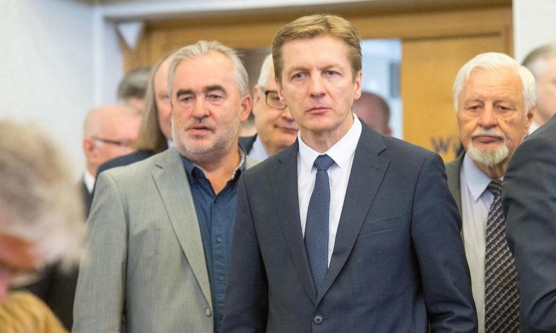 Arvydas Vaitkus Lietuvos pramonininkų konfederacijos prezidiumo posėdyje Vyriausybėje. Juditos Grigelytės (VŽ) nuotr.