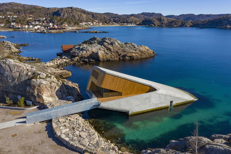 Norvegijoje atidarytas pirmasis restoranas po vandeniu