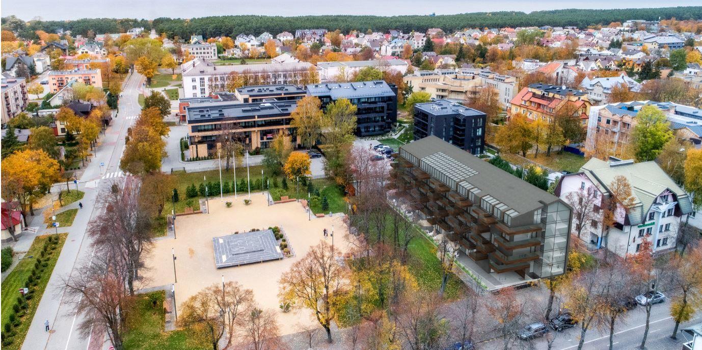 Palangos centre ketinama statyti 4 žvaigždučių viešbutį