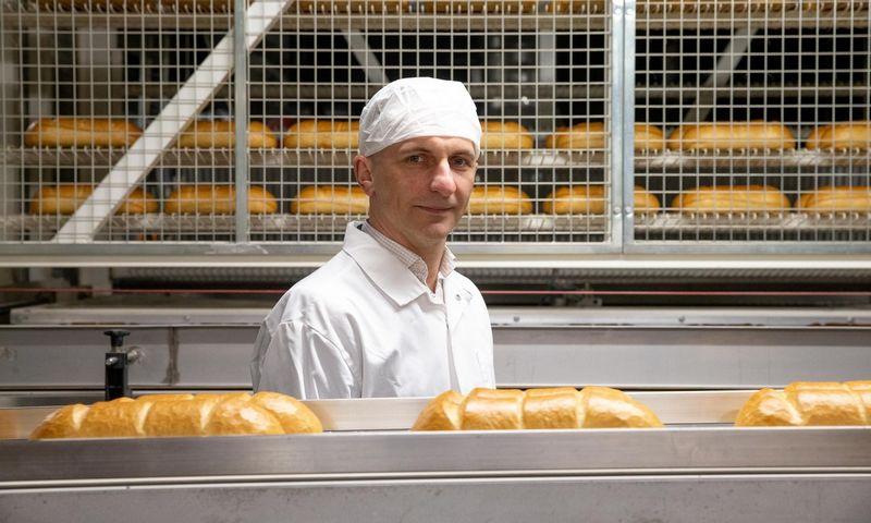 """Artūras Kokoškinas, UAB """"Vilniaus duona"""" komercijos vadovas. Juditos Grigelytės (VŽ) nuotr."""
