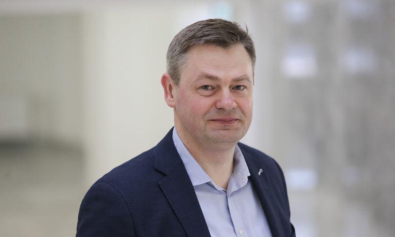 Nerijus Udrėnas, Klaipėdos uosto  valdybos pirmininkas. Vladimiro Ivanovo (VŽ) nuotr.