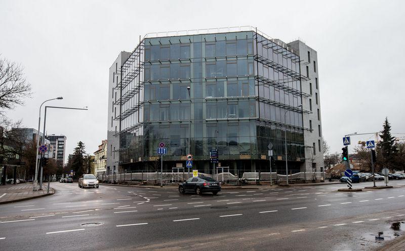 "Statomi ""Maskvos namai"" Vilniuje. Juditos Grigelytės (VŽ) nuotr."