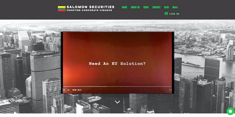 �Salomon Securities� �sik�r� Vilniuje ir vilios �Brexit� paveiktas �mones