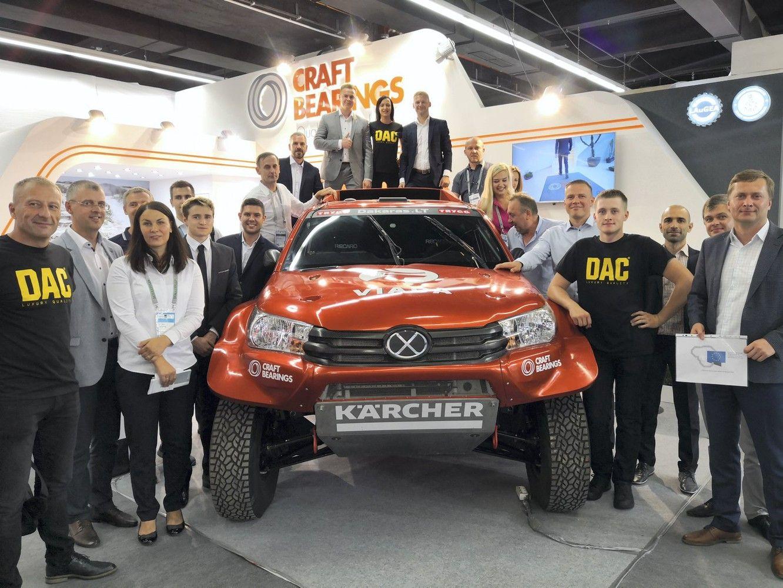 LAuGEA sustiprino automobilių pramonės įmones ir organizacijas