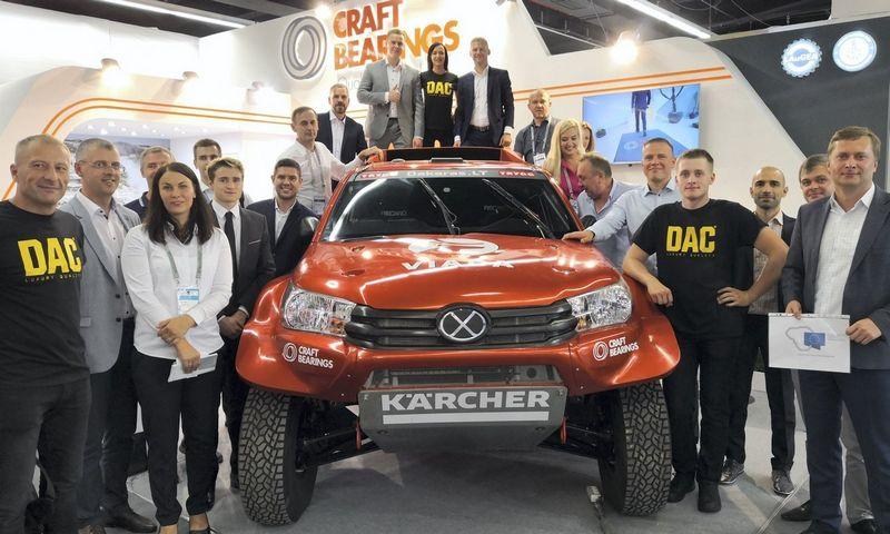 """LAuGEA klasterio nariai 2018 m. Frankfurto tarptautinėje parodoje """"Automechanika"""", kurią aplankė apie 135.000 automobilių verslo specialistų iš 184 šalių."""