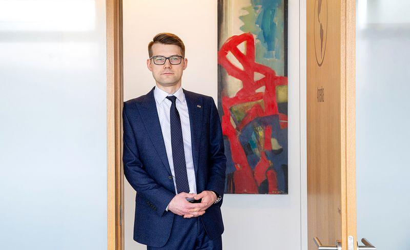 """Ignas Ričkus, UAB """"KPMG Baltics"""" mokesčių konsultantas. Juditos Grigelytės (VŽ) nuotr."""