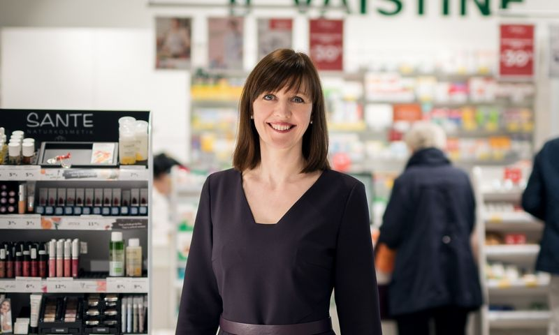 """Ingrida Damulienė, vaistinių tinklo """"Eurovaistinė"""" valdybos pirmininkė, sako, kad svarbiausia, ką CEO turi perduoti komandai, – kryptis, vertybės ir kultūra. Ryčio Galadausko nuotr."""