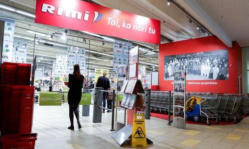"""Renovuossostinės prekybos centre""""Panorama"""" esančią """"Rimi"""""""