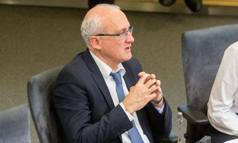 Stasys Jakeliūnas, Seimo Biudžeto ir finansų komiteto pirmininkas. Juditos Grigelytės (VŽ) nuotr.