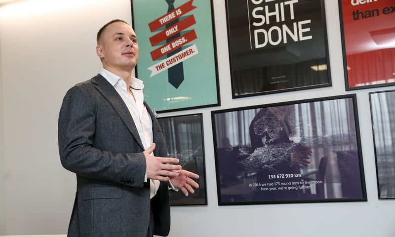 """Ričardas Šukys, UAB """"Medium Group"""" vadovas. Vladimiro Ivanovo (VŽ) nuotr."""