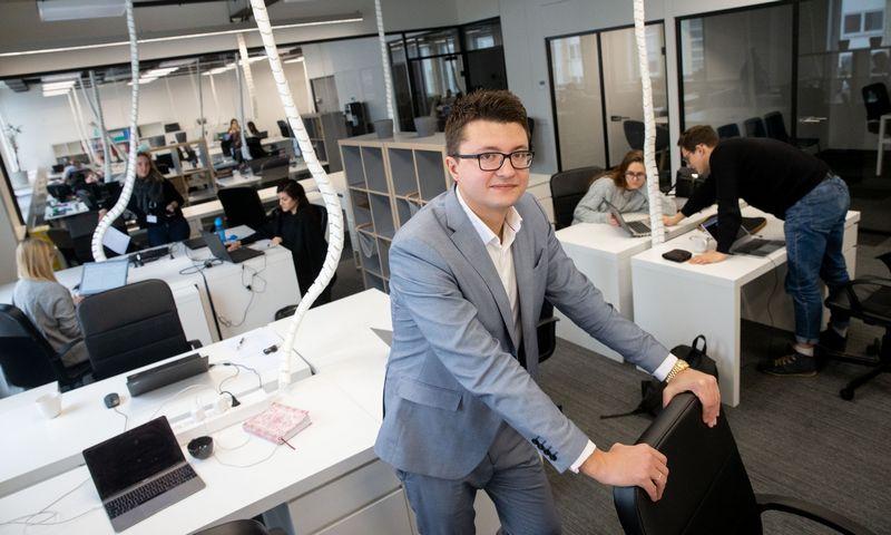 """Andžėjus Rynkevičius, UAB """"Baltic assist"""" bendraturis ir direktorius. Juditos Grigelytės (VŽ) nuotr."""