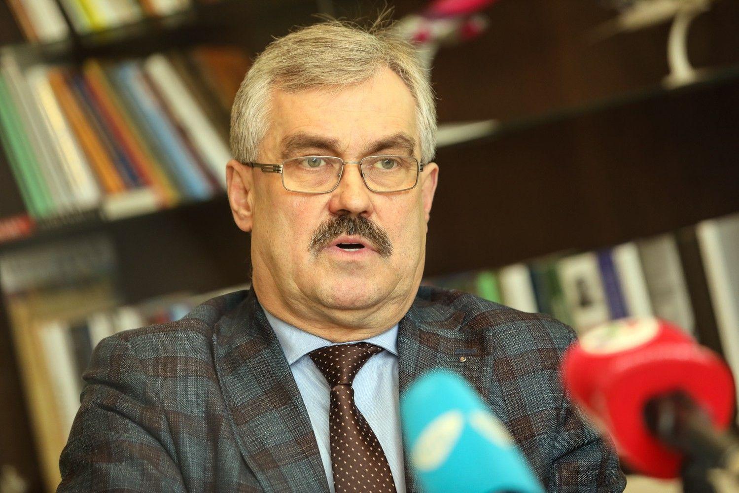 """Po skandalo pasitraukęs M. Grigelis grįžo vadovauti """"Kauno autobusams"""""""