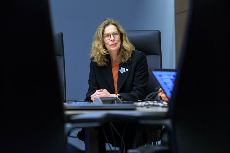 "Birgitte Bonnesen, buvusi Švedijos ""Swedbank"" vadovė. Vladimiro Ivanovo (VŽ) nuotr."