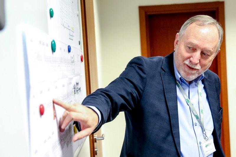 """Gintautas Pangonis, """"Grigeo"""" grupės vadovas: """"Jei ukrainietis gali atvažiuoti tik trumpam, mums jį priimti į darbą neapsimoka, nes vien mokymas trunka kelis mėnesius."""". Vladimiro ivanovo (VŽ) nuotr."""