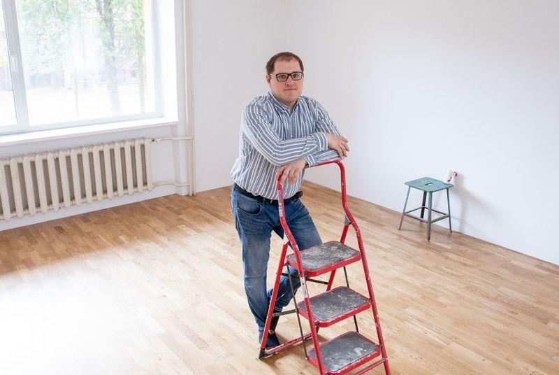 Tomas Mitalas, SEB banko klientas. Juditos Grigelytės (VŽ) nuotr.