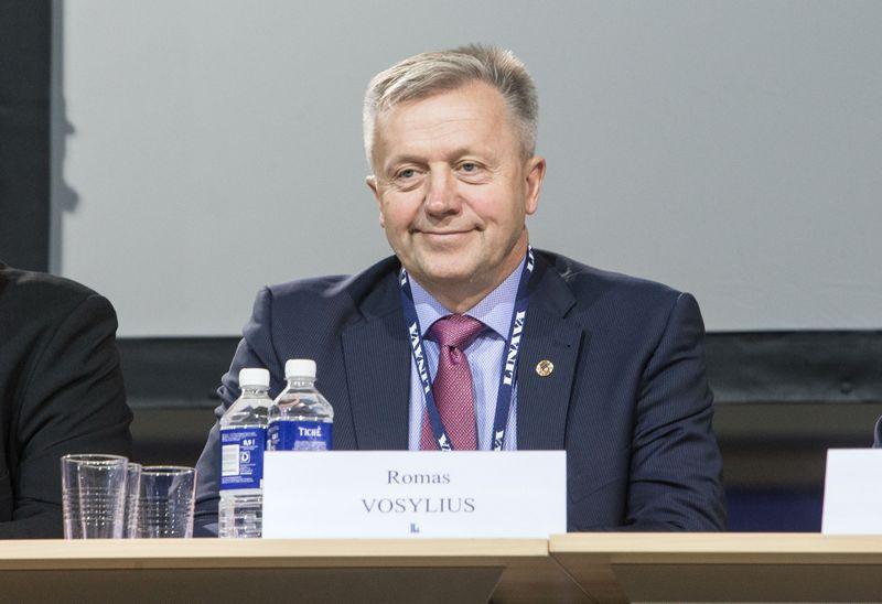 Romas Vosylius, Vidurio Lietuvos vežėjų klubo prezidentas. Juditos Grigelytės (VŽ) nuotr.