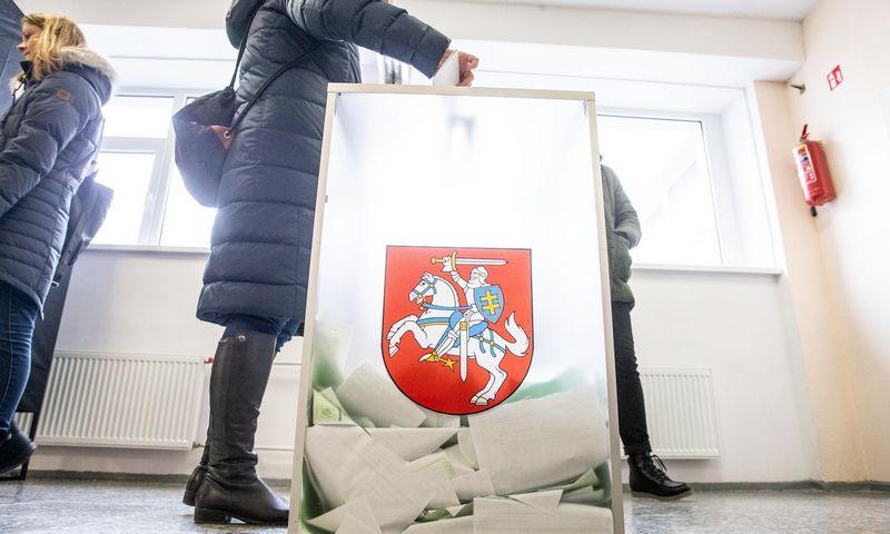 Gegužės 12 d. Lietuvoje vyks trys balsavimai: prezidento rinkimai ir du referendumai. Juditos Grigelytės (VŽ) nuotr.