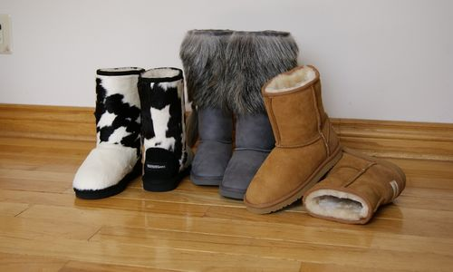 Ugg stiliaus batus pradeda siūti Vitebsko kailių kombinatas