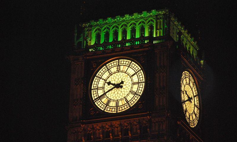 """Big Benas skaičiuoja naują terminą, kada įvyks """"Brexit"""", nors dabar nebelabai aišku, iki kada jis atidėtas. VŽ nuotr."""