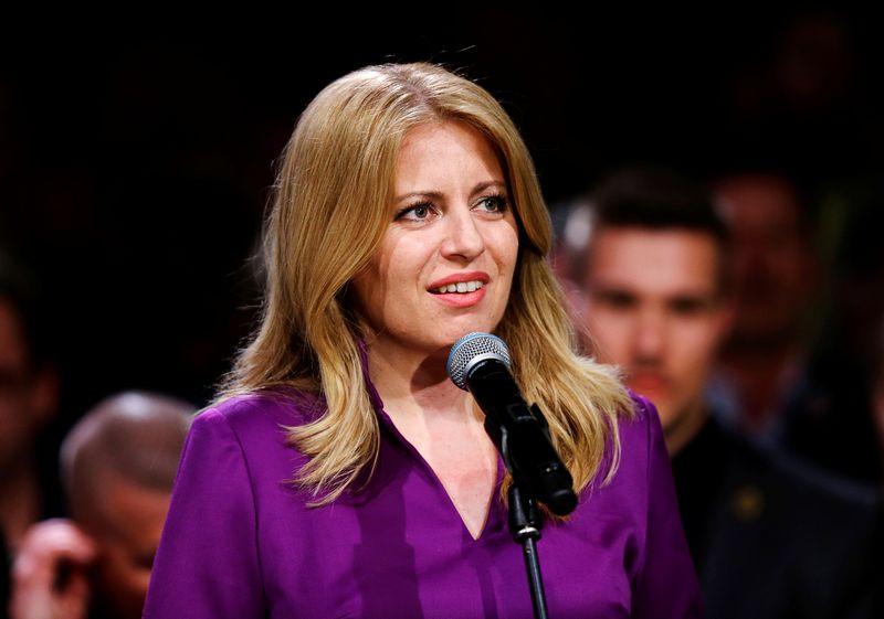 "Zuzana Čaputova, Slovakijos prezidentė. David W Cerny (""Reuters"" / ""Scanpix"") nuotr."