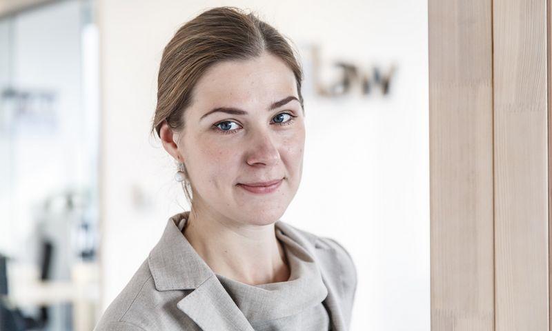"""Jurga Gradauskaitė, """"iLAW"""" advokatų kontoros advokatė, partnerė. Vladimiro Ivanovo (VŽ) nuotr."""