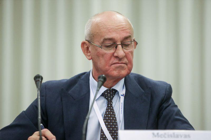 """Mečislavas Atroškevičius, vežėjų asociacijos """"Linava"""" generalinis sekretorius. Vladimiro Ivanovo (VŽ) nuotr."""