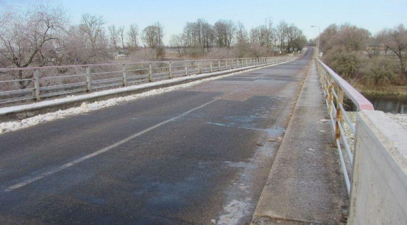 Tiltas per Šventąją Upninkuose. Bendrovės nuotr.