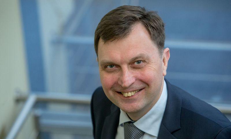 Audrius Kirklys. Fitek LT generalinis direktorius. Vladimiro Ivanovo (VŽ) nuotr.